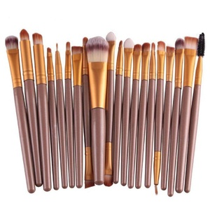 Laimeng,20 pcs/set Makeup Brush Set tools Make-up Toiletry Kit Wool Make Up Brush Set