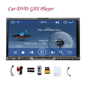 EinCar 7 inch Double Din in Dash Car Stereo Support DVD/CD/MP3/USB/SD/AM/FM Bluetooth Touchscreen Player with RDS Radio Tuner AUX-in Remote control Hands-free Autoradio System Camera input