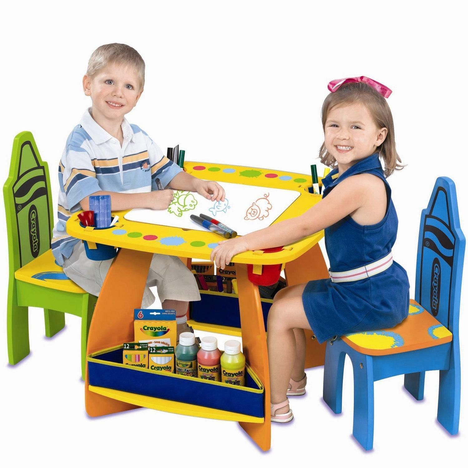 online store kids wood arts and crafts table with chairs. Black Bedroom Furniture Sets. Home Design Ideas
