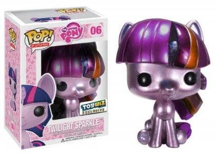 Funko POP! My Little Pony Exclusive Vinyl Figure Metallic Twilight Sparkle by My Little Pony Vinyl Collectible Figure