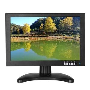 Boblov 10 Inch High Resolution 1920x1200 Digital TFT-LED Color Receiver TV/DVD/Car/PC Monitor HDMI/VGA/AV Input Monitor For Display FPV /DVD CCTV Video