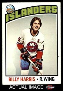 1976 O-Pee-Chee NHL # 252 Billy Harris New York Islanders (Hockey Card) Dean's Cards 5 - EX