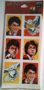 Harry Potter Stickers - Harry and Hedwig by Harry Potter, Warner Brothers