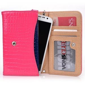 Exxist Classy Women's Wristlet Phone Accessory Wallet Purse Clutch Fits Blackberry Priv   Classic   Z30