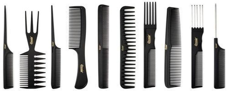 Magic 10 Piece Professional Styling Comb Set by Magic