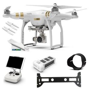 DJI Phantom 3 Professional (Pro) 4K Video Camera + (1) DJI Phantom 3 Intelligent Flight Battery + Expo-Elements Accessory Bundle