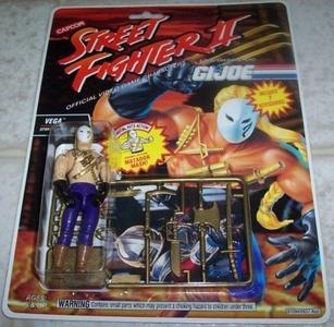 G.I. Joe Street Fighter II Vega Spanish Ninja 3 3/4 Action Figure by Street Fighter