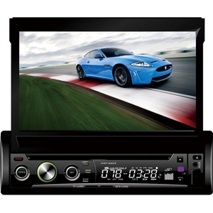 BEIDOUYH CVS7604M 7 inch Sngle DIN In-Dash Touch Screen Car DVD Player with GPS Navigation AM/FM Radio Bluetooth Handsfree