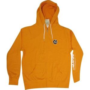 Lost Mens Pop Fleece Hoody Pullover Sweatshirt Medium Tangerine