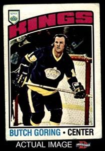 1976 O-Pee-Chee NHL # 239 Butch Goring Los Angeles Kings-Hockey (Hockey Card) Dean's Cards 2 - GOOD