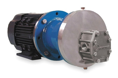 Oberdorfer Pumps - SM20716CWM1-M47 - Rotary Gear Pump, 110 psi, 316 Stainless Steel, 3/4 HP, 1 Phase