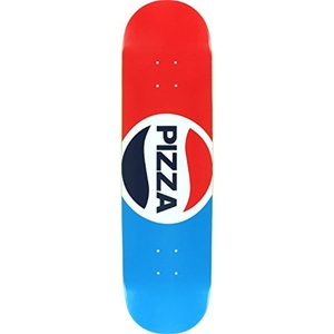 Pizza Pepzi Deck -8.25 Assembled as COMPLETE Skateboard