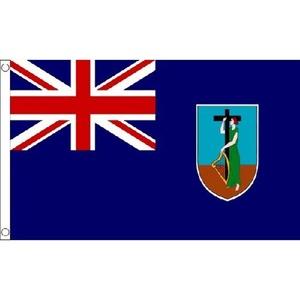 Montserrat Flag 5Ft X 3Ft Caribbean Island Country National Banner New by Montserrat