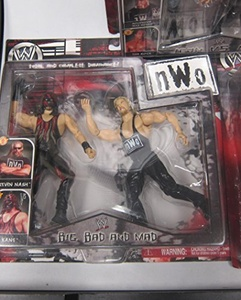 WWE NWO Big Bad and Mad - Kane and Kevin Nash Wrestling Figures 2-pack by Big Bag and Mad