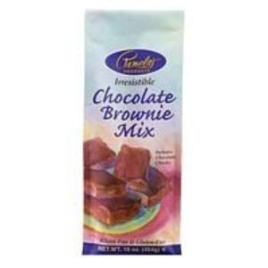 Pamela's Chocolate Brownie Mix Gluten Free (3x16 OZ) by Pamela's Products