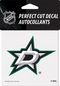 Dallas Stars Perfect Cut Colour 4x4 NHL Licensed Decal Sticker