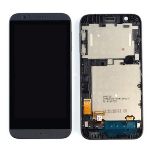 Black New HTC Desire 510 LCD Display + Touch Screen Digitizer Assembly Frame