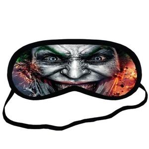 Custom Suicide Squad Joker Sleeping Mask, Comfortable Soft Cotton Sleeping Aids Eye Mask Cover Travel & Work Rest