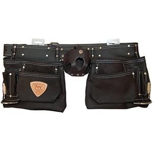 McGuire-Nicholas 4M-747603 10 Pocket Tool Apron - Oil Tan Leather by McGuire-Nicholas