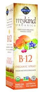 Garden of Life mykind Organics Organic B-12 Spray, 2oz Spray by Garden of Life