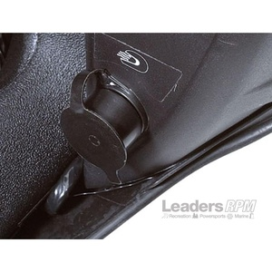 Ski-Doo New OEM Passenger Heated Shield Visor Receptacle Plug-In 1+1 2up