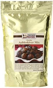 The Prepared Pantry Chocolate Aebleskiver Mix, 32 Ounce by The Prepared Pantry