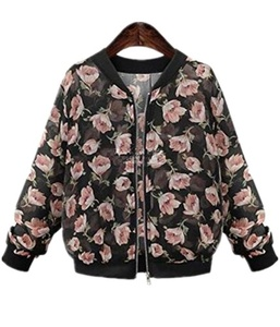 Season Show Women's Lightweight Bomber Jacket cropped jacket