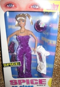 Spice Girls On Stage Doll - Baby Spice (Emma Bunton) by Spice Girls