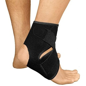 Dehaohui Breathable Antimicrobial Neoprene Ankle Support Brace Running Basketball Ankle Sprain Compression Straps Exercise Running Pain Relief Bacteria Sprained Ankle Recovery Men Women One Size Black by Dehaohui Sports
