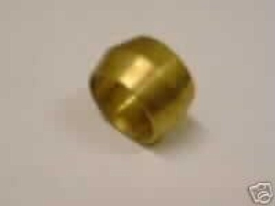 Pack of 10 1/8Dia Brass Tubing Sleeves Compression Olives Cones by Other