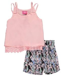 Girls Luv Pink Big Girls'