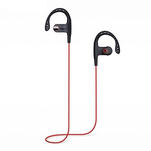 Kasily Bluetooth Headphones Stereo Voice Hands-free Dialing Wireless 4.1 Bluetooth Headset True HD Stereo Sound Super Bass Noise Cancelling Sports Earphones Running Headphones In-ear with Mic for iOS and Android (Red)