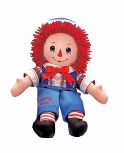 Russ Berrie 12-Inch Button Eye Raggedy Andy by Russ Berrie Button Eye Raggedy Andy, 12