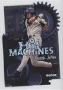Derek Jeter (Baseball Card) 2000 Skybox Metal Hit Machines #7 H