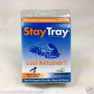 Stay Tray - Temporary Replacement for Lost Retainers Pack of 3 by Stay Tray