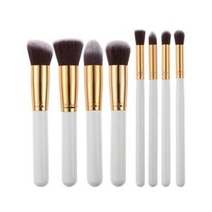 Sunfei 8 Pcs Black Synthetic Kabuki Flat Foundation Brush Single Makeup Cosmetic Brush