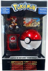 Pokemon TOMY Catch 'n' Return Poke Ball Infernape & Poke Ball by Pokemon Toys, Action Figures, Playsets & Plush