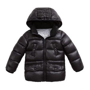 marc janie Baby Toddler Boys' Hoodie Lightweight Down Puffer Long Jacket Black 6T
