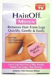 Hair Off Hair Remover Mitten 3-N-1 by Hair Off