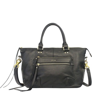Joe's Jeans Women's Payton Small Satchel Black Satchel