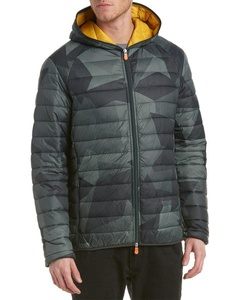 Save The Duck Mens Marc Puffer Jacket, M, Green