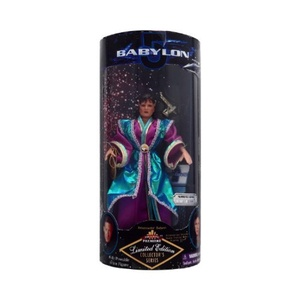 Babylon 5 - Limited Edition - Collector's Series - 9 - Ambassador Deleen with Space Station Modell and Display Stand by Babylon 5