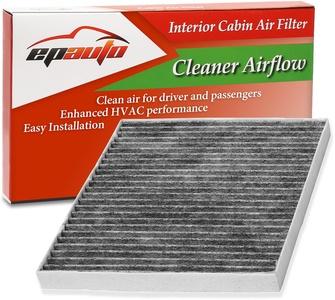 EPAuto CP374 (CF10374) Toyota / Dodge / Pontiac Premium Cabin Air Filter includes Activated Carbon