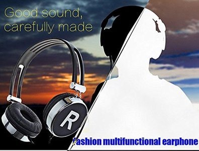 R&B Wireless Bluetooth Headphones Earphone Headset Noice Canceling With Microphone for ios Android Smartphone Table PC