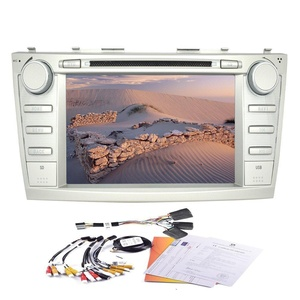 Eincar Special for Toyota Camry (2006-2011) 8 Inch Android 4.4 Quad Core Car DVD Player Built-in GPS Navigation bluetooth support WIFI Mirror Link Car Stereo
