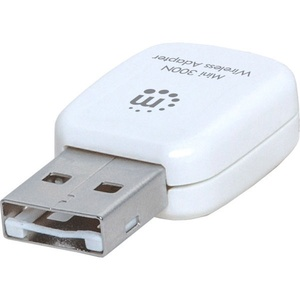 Manhattan 300N Wireless USB Mini Adapter