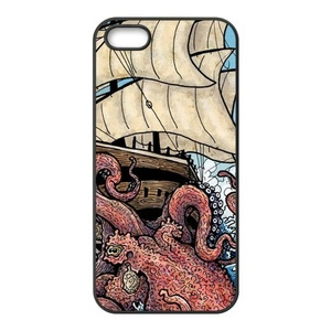 Case for iPhone SE,Cover for iPhone 5,Case for iPhone SE/5/5S,Case for iPhone 5S,Case Cover for iPhone 5,Cover Case for iPhone SE/5/5S,Octopus Rubber TPU Case Cover For iPhone 5 5S SE