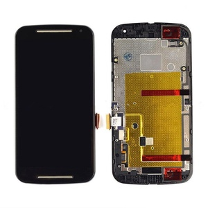 LCD Display+To uch Assembly W/Frame Motorola Moto G G2 2nd Gen XT1063 XT106