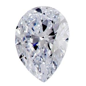 1.03 Ct. | Pear Shape | F-Ice Blue Color | VS2 Clarity | U.S. Man Made Diamond
