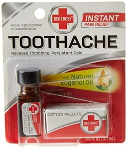Red Cross Toothache Medication Drops by American Red Cross